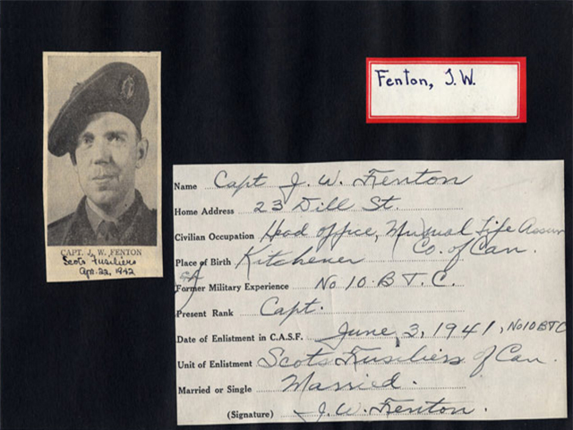 WWII Soldier Card