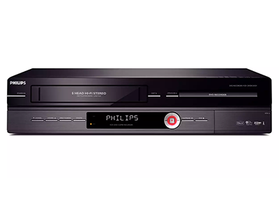 Phillips Dual VHS and DVD Recorder