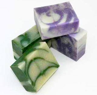 Image: Handcrafted soaps by Massey Soap House