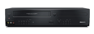 Philips DVD/VHS Dual Player